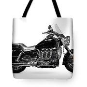 Triumph Rocket IIi Motorcycle Tote Bag