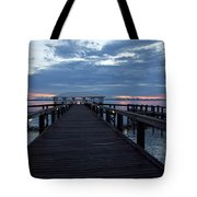 Tropic Twilight On The Indian River Tote Bag