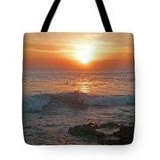 Tropical Bali Sunset Tote Bag