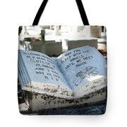 Tropical Cemetery Tote Bag