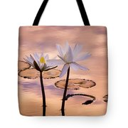 Tropical Lily Tote Bag