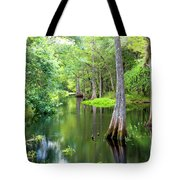 Tropical River 3 Tote Bag