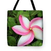 Tropical Swirls Tote Bag