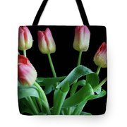 Tulip Bouquet Tote Bag by Tracy Hall