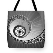 Tulip Staircase Tote Bag by Julian Perry