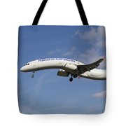 Turkish Delight Airlines Airbus A321 Tote Bag
