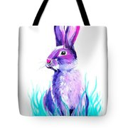 Turquoise And The Hare  Tote Bag