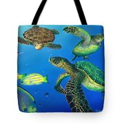 Turtle Towne Tote Bag
