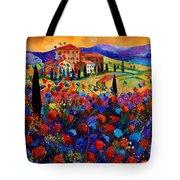 Tuscany Poppies  Tote Bag