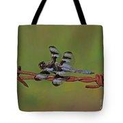 Twelve-spotted Skimmer Tote Bag