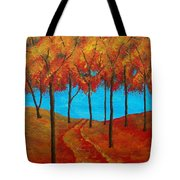 Twilight Woods Tote Bag