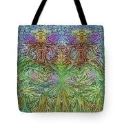 Twin Fairies Tote Bag