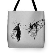 Two Butterfly Tote Bag