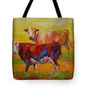 Two Cows Tote Bag