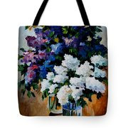 Two Spring Colors Tote Bag