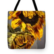 Two Sunflowers Tournesols Tote Bag