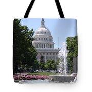 U S Capitol Tote Bag