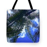 Under The Palms Tote Bag