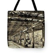Under The Vines Tote Bag