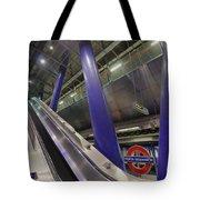 Underground Escalator Tote Bag