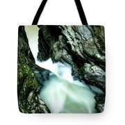 Up The Down Waterfall Tote Bag