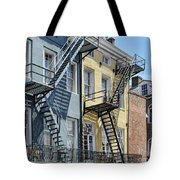 Up The Stairs Tote Bag
