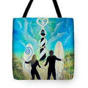 Uprising Of Love Hatteras Tote Bag