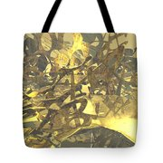 Urban Gold Tote Bag