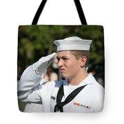 Us Naval Sea Cadet Corps - Gulf Eagle Division, Cape Coral, Florida Tote Bag