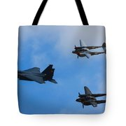 Usaf Heritage Flight Tote Bag