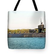 Uss Ohio Tote Bag