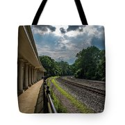 Valley Forge Train Station  Tote Bag