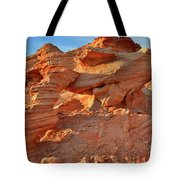 Valley Of Fire Arch At Sunrise Tote Bag