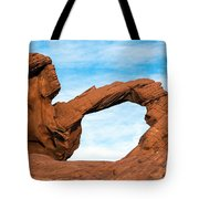 Valley Of Fire State Park Arch Rock Tote Bag