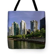 Waterfront Of Vancouver, Canada Tote Bag