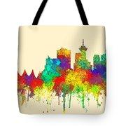 Vancouver B.c. Skyline Tote Bag