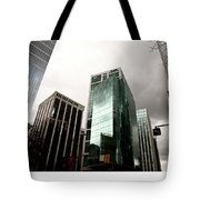 Vancouver Skyline Canada Tote Bag