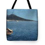 Veduta Del Vesuvio Tote Bag
