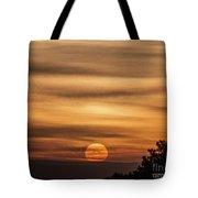 Veiled Sunrise Tote Bag