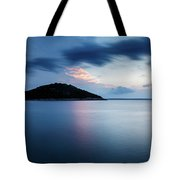Veli Osir Island At Dawn, Losinj Island, Croatia. Tote Bag