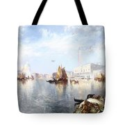 Venetian Grand Canal Tote Bag by Thomas Moran