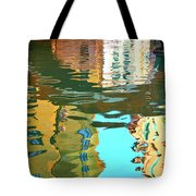 Venetian Mirror - Venice In Water Reflections Tote Bag