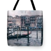 Venice Channels Tote Bag