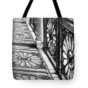 Venice Fence Shadows Tote Bag