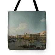 Venice   The Basin Of San Marco On Ascension Day Tote Bag