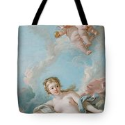 Venus On The Waves Tote Bag