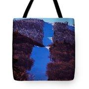 Vermonts Sugarbush Mountain Tote Bag