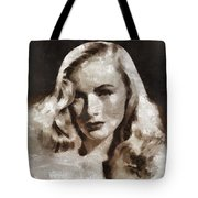 Veronica Lake Vintage Hollywood Actress Tote Bag