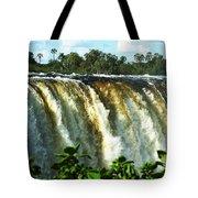 Victoria Falls Tote Bag