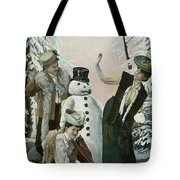 Victorian Christmas Card Tote Bag